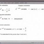 Symbolic algebra
