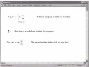 A function defined both in terms of a program and in terms of