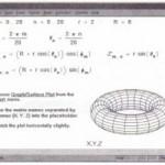 Creating parametric surface plots