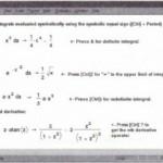 Symbolic calculus