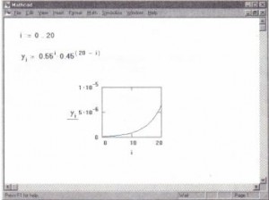 Graphing a vector.