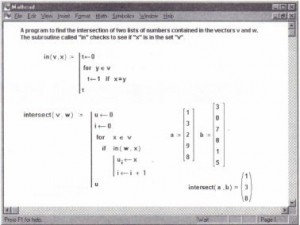 Program tofind the numbers common to two vectors.