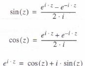 Trigonometric functions and their inverses