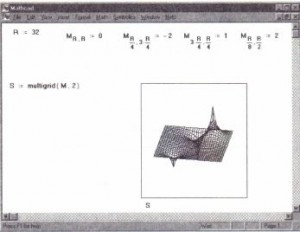 Using multigrid to solve a Poisson's equation in a square