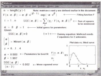 Homework least squares numerical