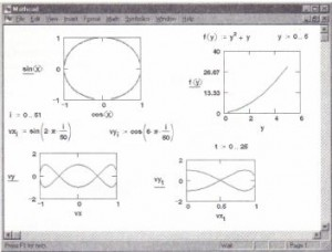 X- Y graphs of expressions, functions, and vectors.